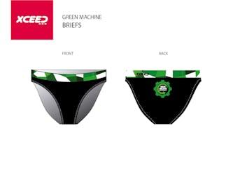 GRN MCHN -Men's Swim Briefs