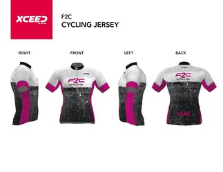 F2C - Short Sleeve Cycling Jersey