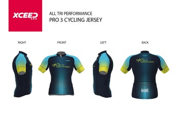 All Tri Performance - Short Sleeve Cycling Jersey