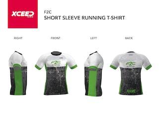 F2C Short Sleeve Running Shirt