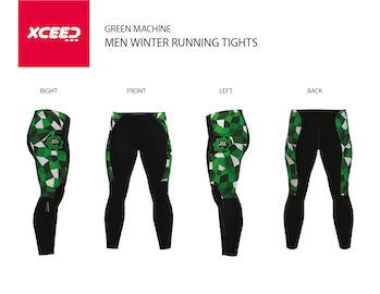 GRN MCHN - Winter tights