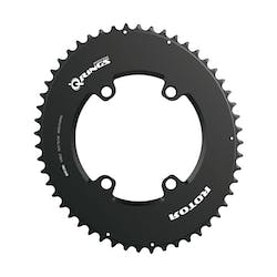 Aero Chainring 54 oval BCD110x4-inner. ALDHU. INspider and Shimano